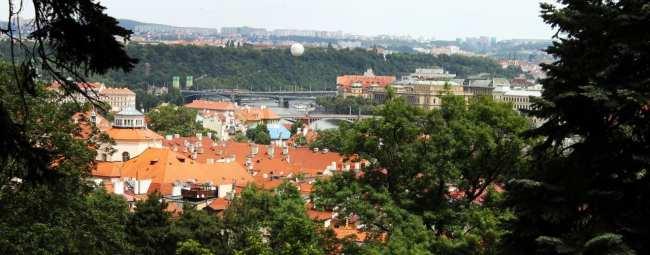 De onde ver Praga do alto - Petrín 3