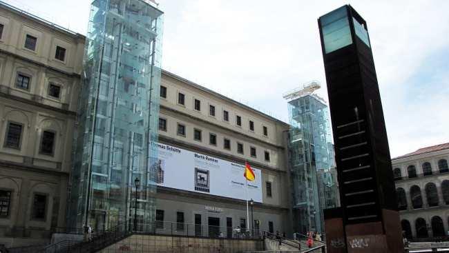 Guia KLM de Madri - Museu Reina Sofia