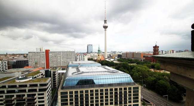 Guia KLM de Berlim - Vista do alto da catedral de Berlim