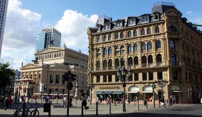 Roteiro segunda viagem a Frankfurt - Opera