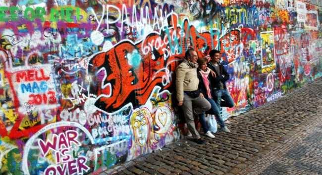 Segway tour em Praga - John Lennon Wall 2