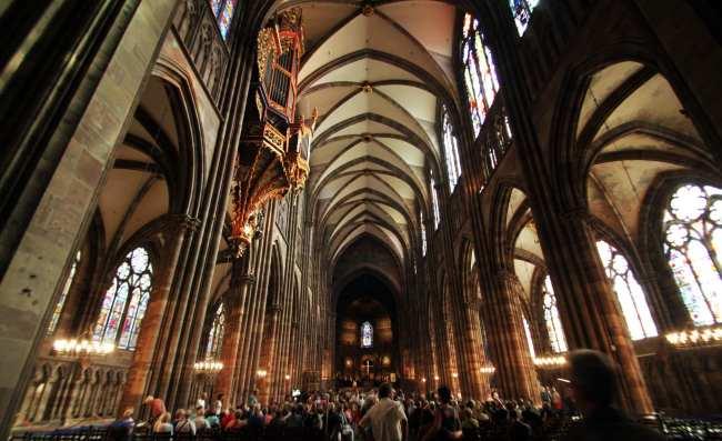 Dicas e roteiros de Strasbourg / Estrasburgo - Catedral de Notre Dame 1