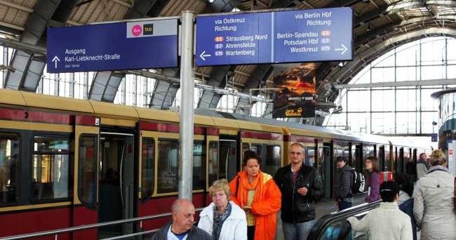 Dicas para viajar de trem na Alemanha - Estação de trem