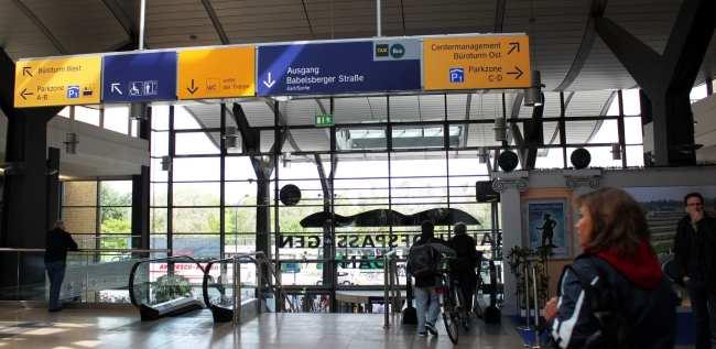 Dicas para viajar de trem na Alemanha - Estação de trem em Postdam