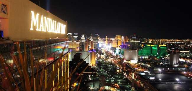 De onde ver Las Vegas do alto - Foundation room 2