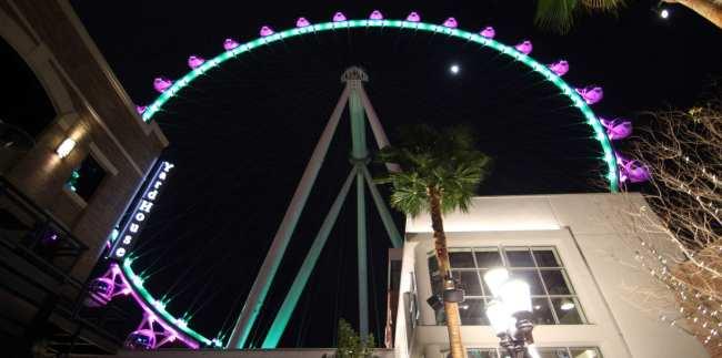 De onde ver Las Vegas do alto - High Roller The Linq 2