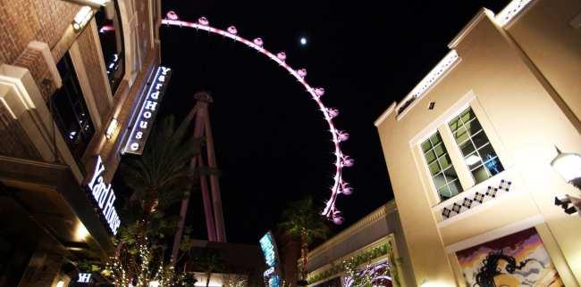 De onde ver Las Vegas do alto - High Roller The Linq 3