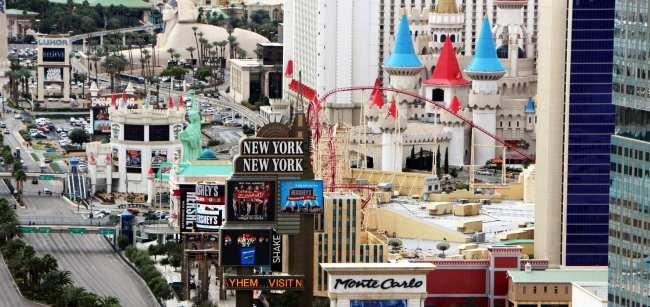 De onde ver Las Vegas do alto - Torre Eiffel de Las Vegas 2