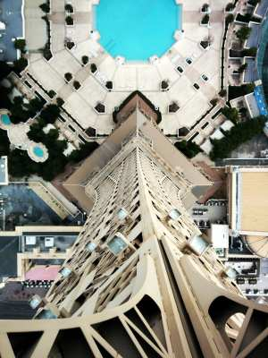 De onde ver Las Vegas do alto - Torre Eiffel de Las Vegas 3