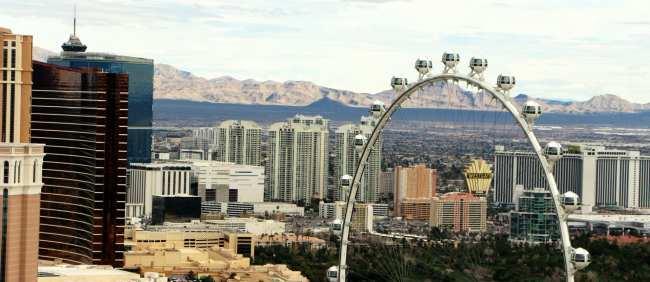 De onde ver Las Vegas do alto - Torre Eiffel de Las Vegas 6