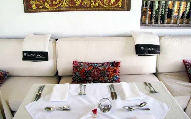 Restaurantes em Lima para comer bem - Café do Museu Larco