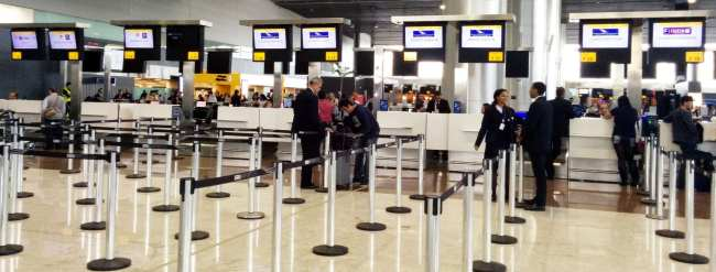 Como é voar de South African Airways - Terminal 3 guarulhos
