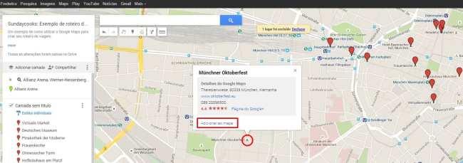 Como fazer roteiros de viagem com o Google Maps - 03