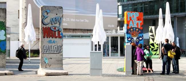 Kreuzberg, o bairro descolado de berlim - pedaços do muro