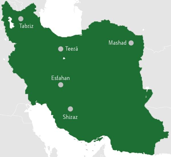 Mapa cidades