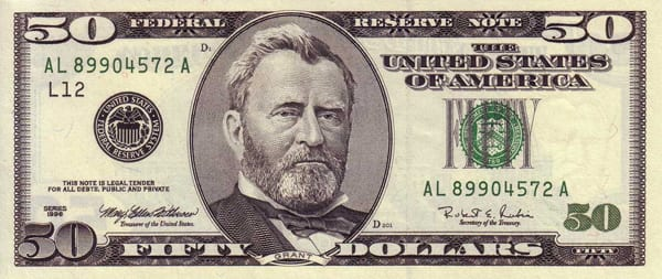 Dólar série 1996
