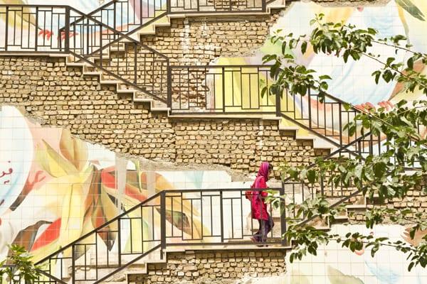 28 Grafite mulher vermelho