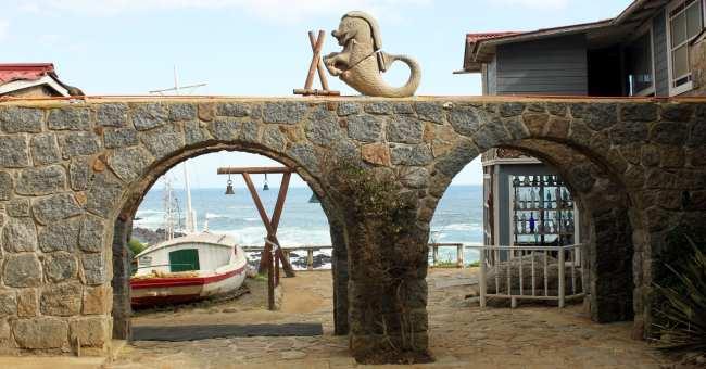 Casa de Pablo Neruda em Isla Negra no Chile - 3
