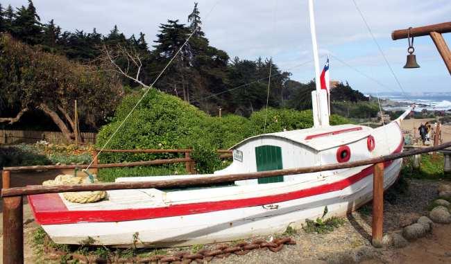 Casa de Pablo Neruda em Isla Negra no Chile - 6