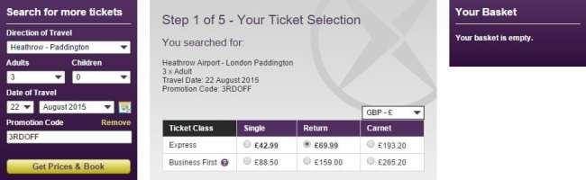 Como ir do aeroporto ao centro de Londres - Heathrow Express 1
