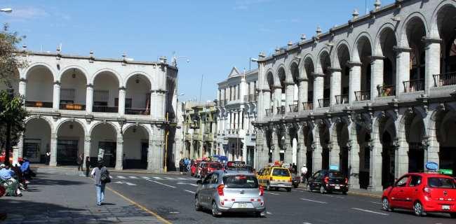 Onde ficar em Arequipa - Plaza de Armas