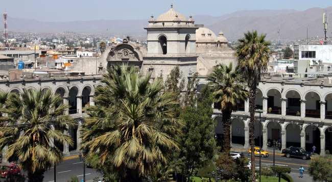 Onde ficar em Arequipa - Plaza de Armas 3