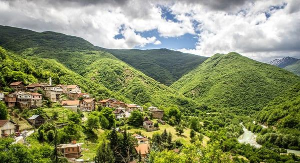 Vila Jance, Macedônia (Foto: Marjan Lazarevski - CC)