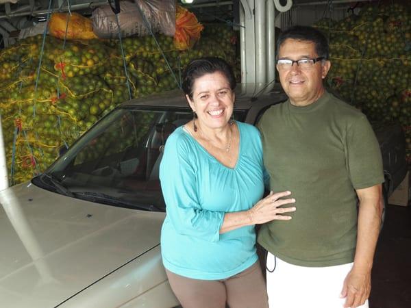 Yolanda e Humberto, sessentões viajando de carro pela América do Sul