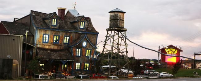 Great Smoky Mountain - Haunted House