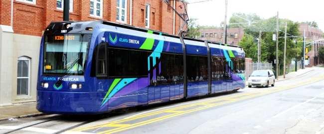 Roteiro de viagem de Atlanta - streetcar