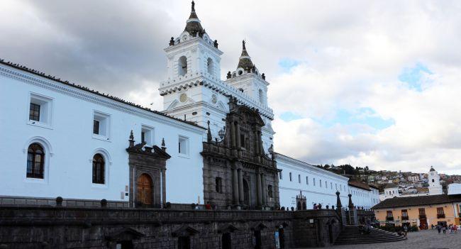 Roteiro de Quito - Igreja de São Francisco