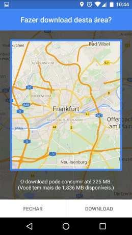 Novo Google Maps com mapas offline - 5