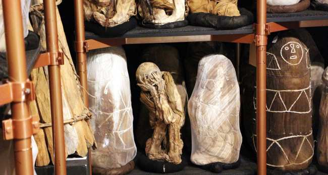 Norte do Peru chachapoyas - museu de leymebamba 11
