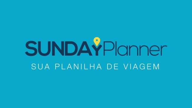 Planilha de gastos de viagem SundayPlanner