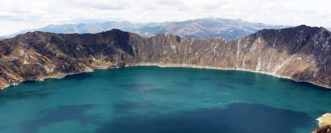Vulcão Quilotoa no Equador - 5