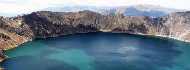 Vulcão Quilotoa no Equador - 6