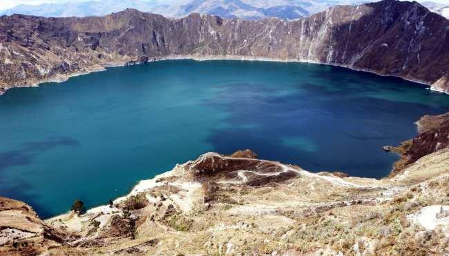 Vulcão Quilotoa no Equador - 9