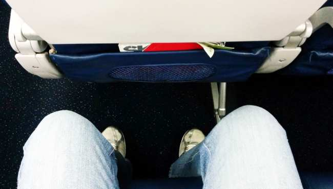 Como é voar de Delta Airlines - 1
