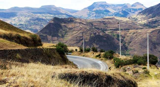 Ruína Inca no Equador - Ingarapirca 1