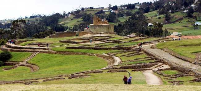 Ruína Inca no Equador - Ingarapirca 2