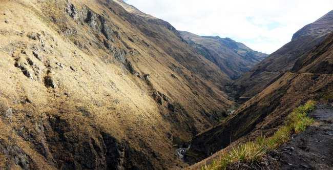 Trem Nariz del Diablo (rota nariz do diabo) Equador - 11