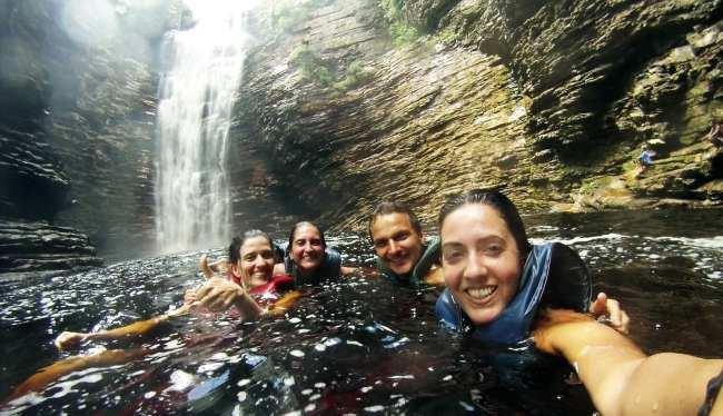 Chapada Diamantina - cachoeira do buracao