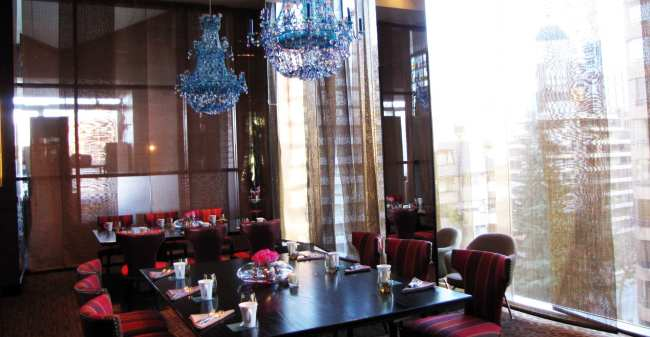 Onde ficar em Santiago - hotel W 3