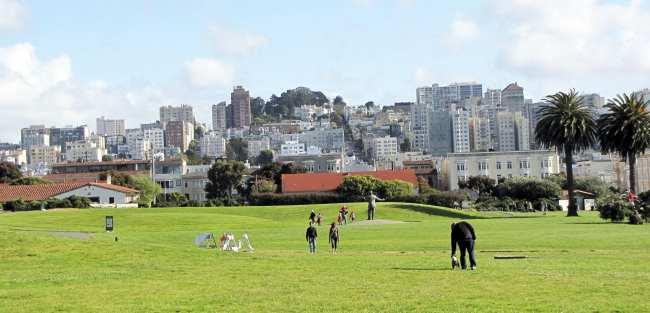 Roteiro por São Francisco - parques