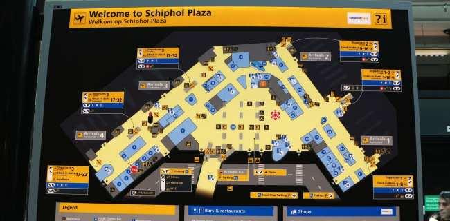 Amsterdam - como ir do aeroporto ao centro da cidade - 16