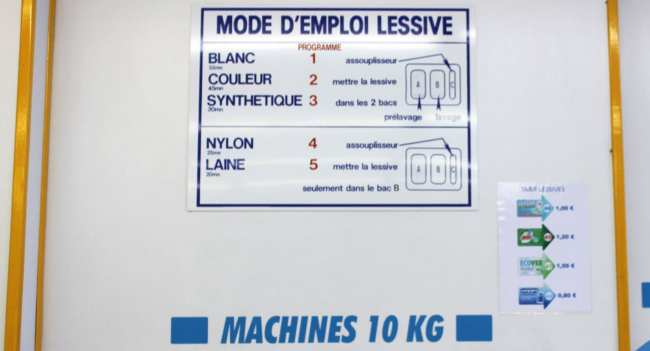 Como lavar roupa na Europa: lavandera - 07