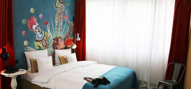 Hotel 25hours MuseumsQuartier Viena - 01