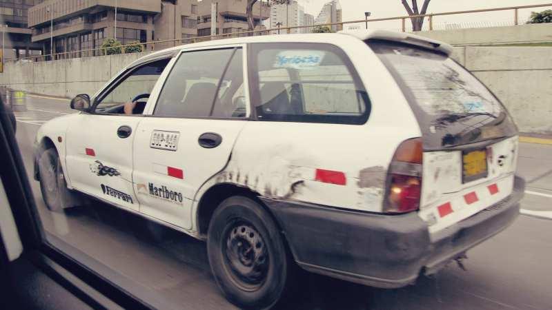 Como negociar táxis em Lima e no Peru - 03