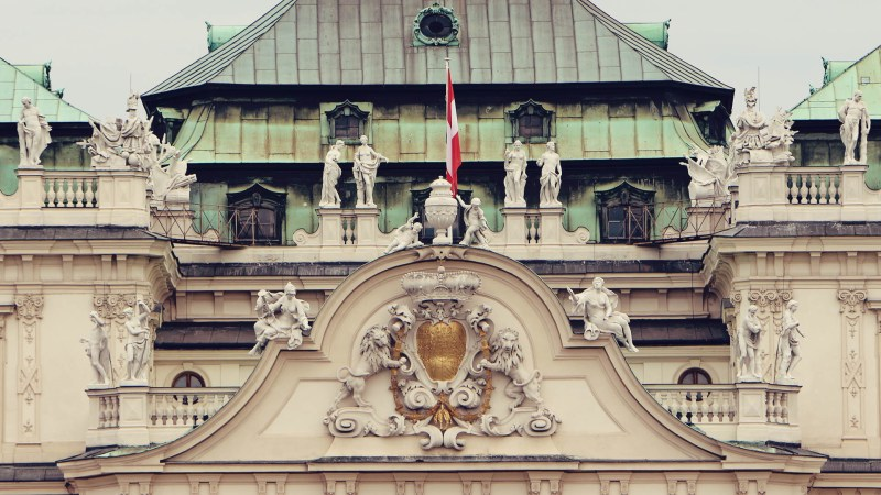 Palácio Belvedere em Viena - O Beijo de Klimt - 04