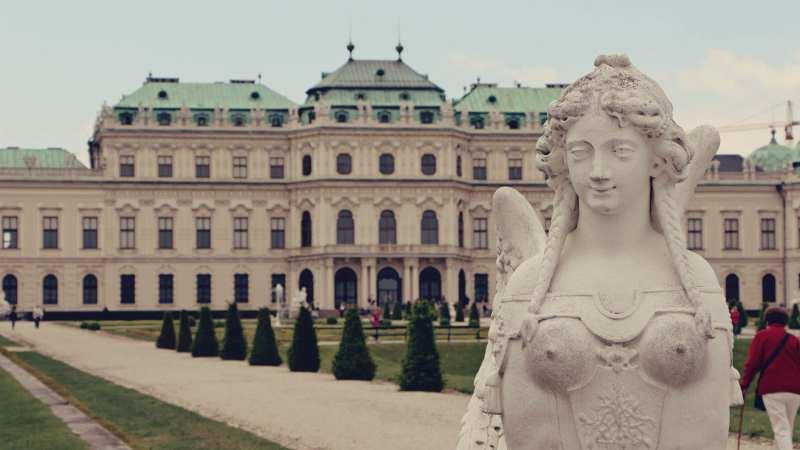 Palácio Belvedere em Viena - O Beijo de Klimt - 08